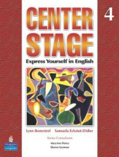 Center Stage 4 Lstp Package W/ Self-Study CD-ROM av Lynn Bonesteel og Samuela Eckstut (Bok uspesifisert)