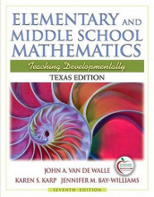 Elementary and Middle School Mathematics: Texas Edition av Jennifer M Bay Williams, Karen S Karp og John A Van de Walle (Blandet mediaprodukt)