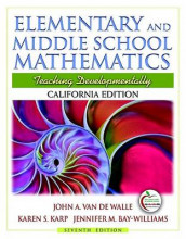 Elementary and Middle School Mathematics: California Edition av Jennifer M Bay Williams, Karen S Karp og John A Van de Walle (Blandet mediaprodukt)