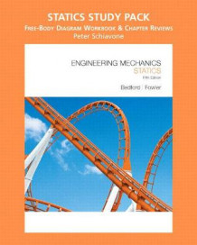 Engineering Mechanics: Statics Study Pack, Free-Body Diagram Workbook and Chapter Reviews av Anthony M. Bedford, Peter Schiavone og Wallace L. Fowler (Blandet mediaprodukt)
