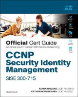 Omslag - CCNP Security Identity Management SISE 300-715 Official Cert Guide