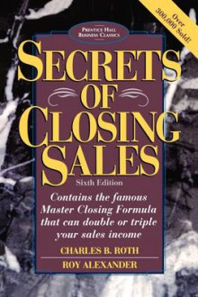 Secrets of Closing Sales av Roth og Alexander (Heftet)