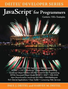Javascript for Programmers av Paul Deitel og Harvey M. Deitel (Heftet)