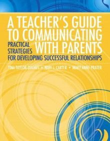 A Teacher's Guide to Communicating with Parents av Mary Anne Prater, Nari J. Carter og Tina Taylor Dyches (Heftet)