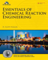 Omslag - Essentials of Chemical Reaction Engineering