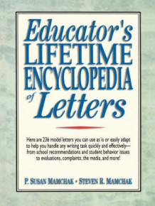 Educator's Lifetime Encyclopedia of Letters av P. Susan Mamchak og Steven R. Mamchak (Heftet)