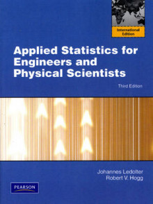 Applied Statistics for Engineers and Physical Scientists av Johannes Ledolter og Robert V. Hogg (Heftet)