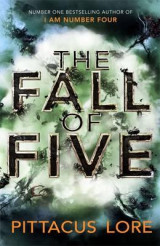 Omslag - The fall of five
