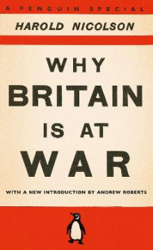 Why Britain is at War av Harold Nicolson (Heftet)