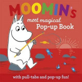 Omslag - Moomin's magical pop up book