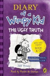 Omslag - Diary of a Wimpy Kid: The Ugly Truth book & CD