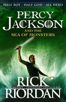 Percy Jackson and the sea of monsters av Rick Riordan (Heftet)