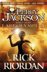 Omslag - Percy Jackson and the last olympian