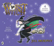 The Worst Witch; The Worst Strikes Again; A Bad Spell for the Worst Witch and The Worst Witch All at Sea av Jill Murphy (Lydbok-CD)