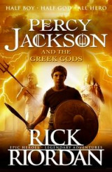 Omslag - Percy Jackson and the Greek gods