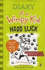 Omslag - Diary of a Wimpy Kid: Hard Luck Book & CD