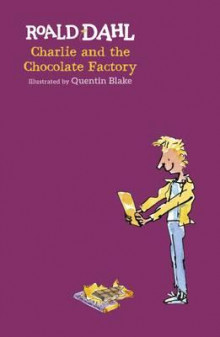 Charlie and the chocolate factory av Roald Dahl (Innbundet)