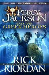Omslag - Percy Jackson And The Greek Heroes