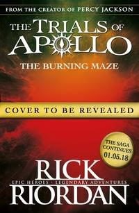The burning maze av Rick Riordan (Heftet)