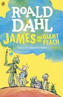 James and the giant peach av Roald Dahl (Heftet)