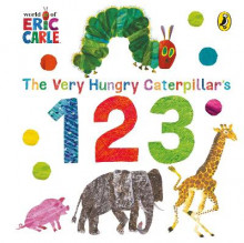 The Very Hungry Caterpillar's 123 av Eric Carle (Pappbok)