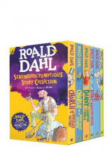 Omslag - Roald Dahl's Scrumdiddlyumptious Story Collection