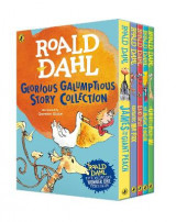 Omslag - Roald Dahl's Glorious Galumptious Story Collection