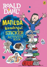 Omslag - Roald Dahl Matilda Sticker Activity Book