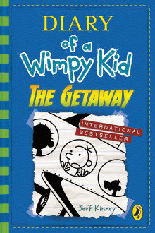 The getaway av Jeff Kinney (Heftet)