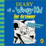 Omslag - Diary of a Wimpy Kid: The Getaway (book 12)