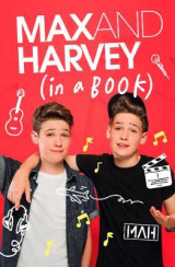 Omslag - Max and Harvey: In a Book
