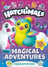 Omslag - Hatchimals: Magical Adventures Sticker Activity Book