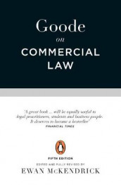 Goode on Commercial Law av Roy Goode (Heftet)