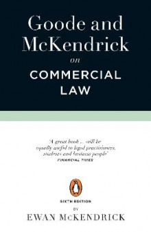Goode and McKendrick on Commercial Law av Roy Goode og Ewan McKendrick (Heftet)