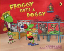 Froggy Gets a Doggy av Jonathan London (Heftet)