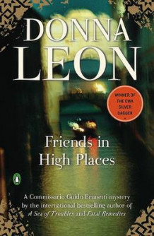 Friends in High Places av Donna Leon (Heftet)