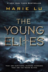 Omslag - The young elites
