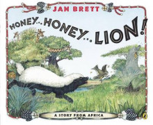 Honey...Honey...Lion! av Jan Brett (Heftet)