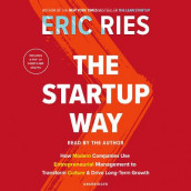 The Startup Way av Eric Ries (Lydbok-CD)