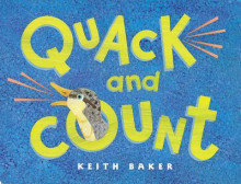 Quack and Count av Keith Baker (Pappbok)