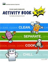 Omslag - Food Safe Families Activity Book for Kids!: Clean, Separate, Cook, Chill