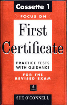 Focus on First Certificate: Practice Test Cassette 1-2 av Sue O'Connell (Lydkassett)