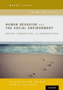 Human Behavior and the Social Environment, Macro Level av Katherine van Wormer og Fred Besthorn (Heftet)