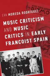 Omslag - Music Criticism and Music Critics in Early Francoist Spain