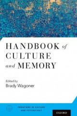 Omslag - Handbook of Culture and Memory