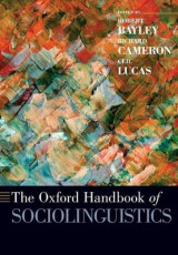 Omslag - The Oxford Handbook of Sociolinguistics