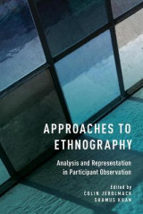 Omslag - Approaches to Ethnography