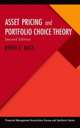 Omslag - Asset Pricing and Portfolio Choice Theory