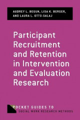Omslag - Participant Recruitment and Retention in Intervention and Evaluation Research