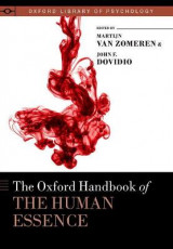 Omslag - The Oxford Handbook of the Human Essence
